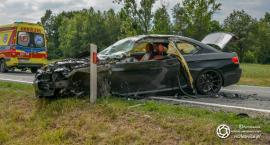 Wypadek w Ostrowinie -kierowca stracił prawo jazdy - VIDEO
