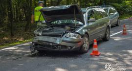 Wypadek na trasie Ostrowina - Drołtowice