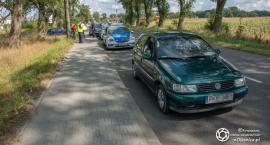 Potrącenie rowerzystki w Sycowie