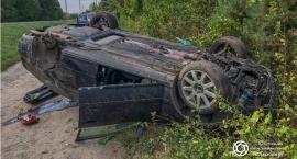 Zderzenie dwóch osobówek i ciężarówki w Sokołowicach
