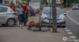 Kolizja i ucieczka nietrzeźwego rowerzysty