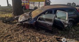 Wypadek koło Bierutowa