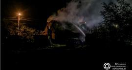 Pożar budynku w Brzezince - jedna osoba została poszkodowana