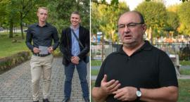Konferencja prasowa KKW SLD Lewica razem w sprawie kandydata na Burmistrza Oleśnicy