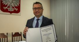 Wójt Marcin Kasina zajął II miejsce w plebiscycie Gazety Wrocławskiej w kategorii Wójt