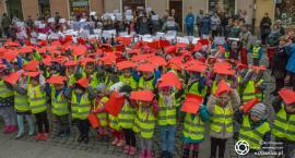 Oleśnickie przedszkolaki zaśpiewały hymn na Rynku