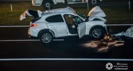 Podwójny śmiertelny wypadek koło Sycowa
