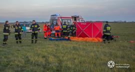 Śmierć paralotniarza na oleśnickim lotnisku