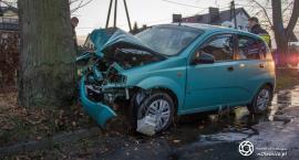 Kolejne tragiczne zdarzenie - w wypadku w Bierutowie pasażerka poniosła śmierć