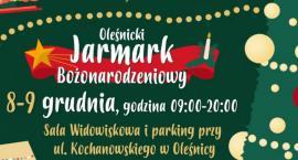 Choinka oraz jarmark w Oleśnicy