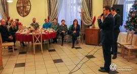 Spotkanie wigilijne w oleśnickim Centrum Kształcenia i Wychowania OHP