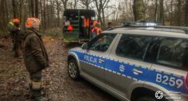 Wrocławski Ruch Antyłowiecki zablokował polowanie na dziki w lesie koło Krzeczyna