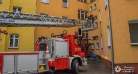 Interwencja strażaków na ul. Daszyńskiego