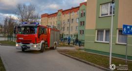 Interwencja strażaków na Kleeberga