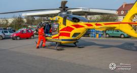 Śmigłowiec LPR lądował obok Leclerca - niestety kobieta zmarła - VIDEO