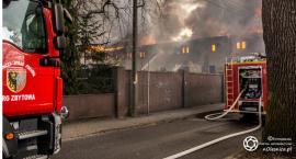 Ogromny pożar w Bierutowie - VIDEO