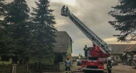 Piszkawa - pożar sadzy w kominie