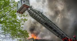 Bierutowski Bieramot znów płonął - przerwane uroczystości obchodów Dnia Strażaka - VIDEO