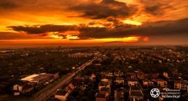 Jak słońce zachodziło wczoraj nad Oleśnicą