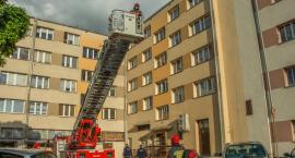 Interwencja strażaków na Lwowskiej - VIDEO