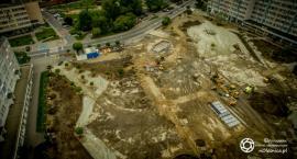 Okiem drona - pl. Zwycięstwa w przebudowie - FOTO - DRON