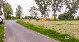 Śmigłowiec LPR lądował w Nowoszycach - VIDEO