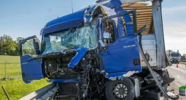 Na trasie S8 zderzyły się ciężarówki - interweniował LPR