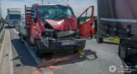 Kolejny wypadek na trasie S8 - VIDEO