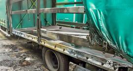 Podpalił ciężarówkę - straty wynoszą prawie 100 tyś. złotych