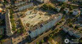 Plac Zwycięstwa nabiera kształtów - DRON
