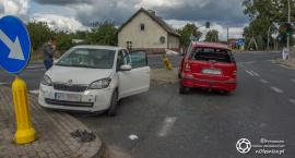 Wypadek w Ligocie Polskiej - jedna osoba została poszkodowana