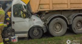 Wypadek w pobliżu Ligoty Małej
