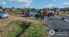 Poważny wypadek w Chełstówku - VIDEO
