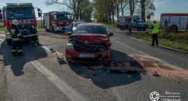 Wypadek koło Boguszyc