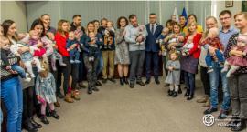 Najmłodsi mieszkańcy gminy - powitanie