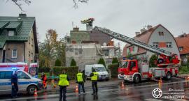Sudoła - Mężczyzna spadł z rusztowania w trakcie prac remontowych