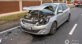 Wypadek trzech aut w Ose