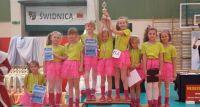 Oleśnickie tancerki na podium