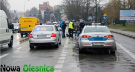 Kolizja aut na Wojska Polskiego - ZDJĘCIA