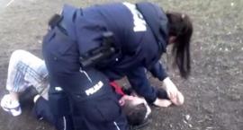 Zobacz nagranie z policyjnej interwencji