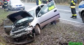 Wypadek DK 25 przed Ostrowiną