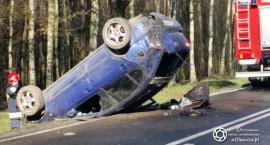 Kolejny wypadek na DK25