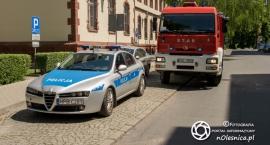 Alarmy bombowy w oleśnickim sądzie i urzędzie skarbowym - VIDEO