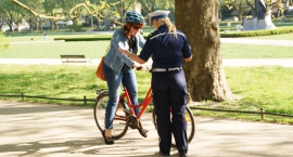 Policja apeluje do rowerzystów