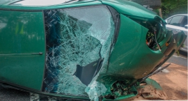 Śmiertelny wypadek w Stradomii