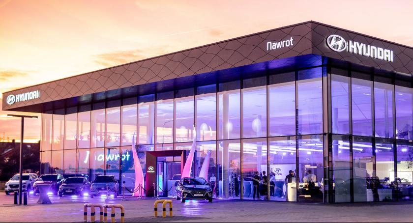 24wroclaw, Największy Europie salon Hyundai otwarty Długołęce - zdjęcie, fotografia