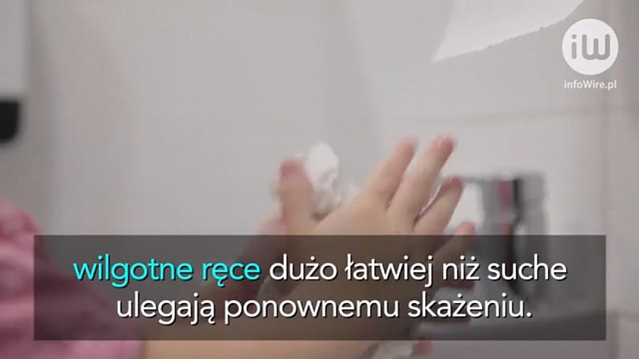 Lifestyle, Tylko Polaków prawidłowo ręce wyjściu toalety - zdjęcie, fotografia