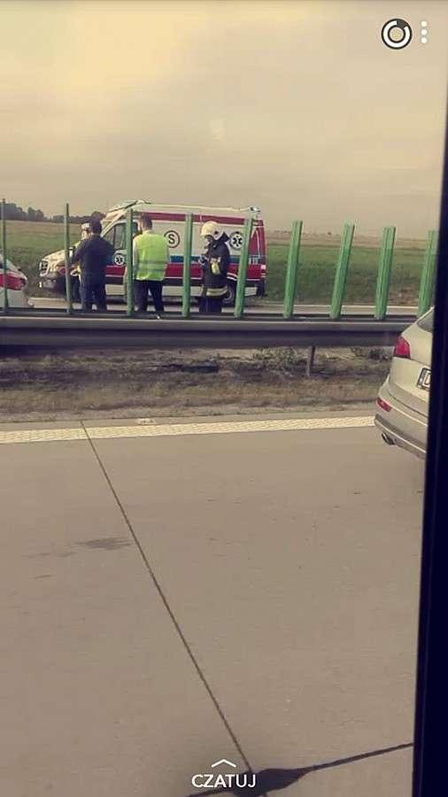 Autostrada A4, Kolejny ciężki dzień autostradzie - zdjęcie, fotografia