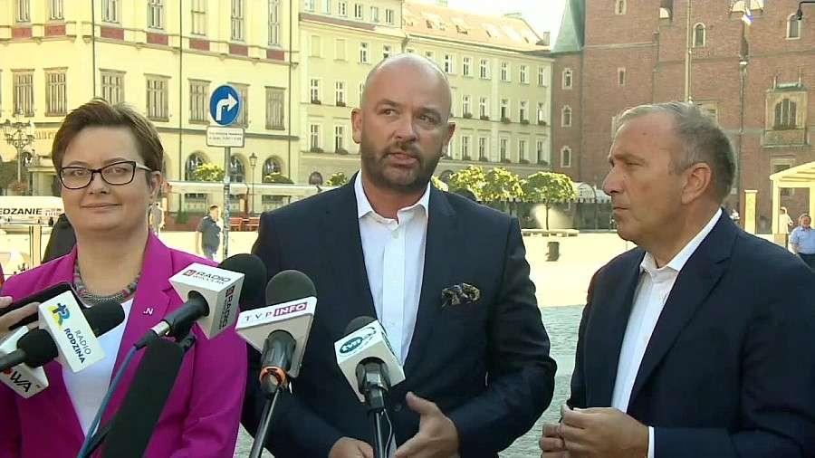 Polityka, Nowoczesna zaprezentowały wspólnego kandydata prezydenta Wrocławia Został Jacek Sutryk - zdjęcie, fotografia