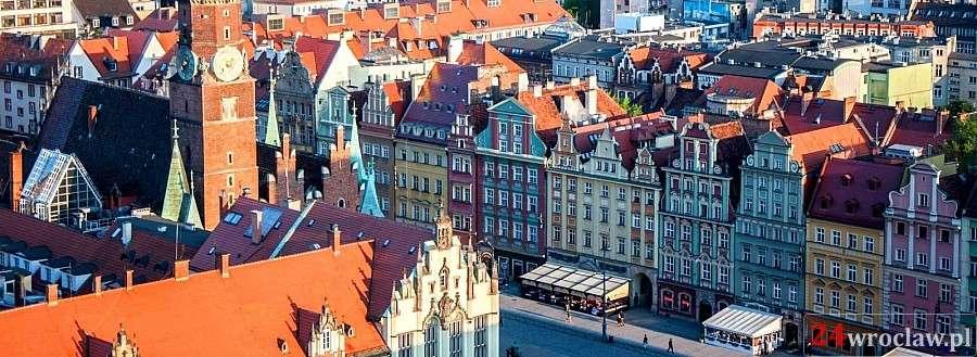 Miejsca we Wrocławiu, Wrocławski Rynek urokliwa wizytówka miasta - zdjęcie, fotografia